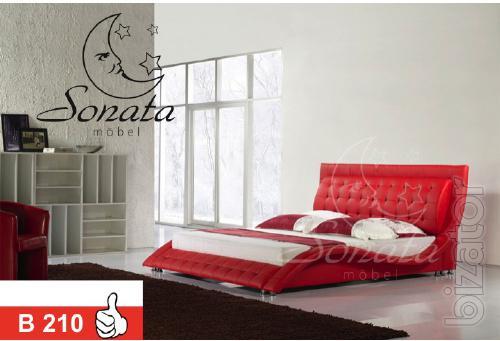 Купить кожаную кровать