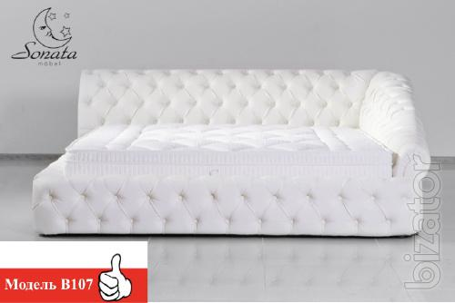 Кожаные кровати