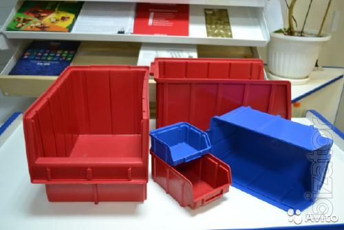The red plastic boxes 703
