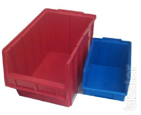 Plastic tray for hardware