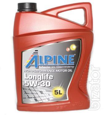 Motor Oil Alpine Longlife 5w 30 Synthetic 5l Buy On Www