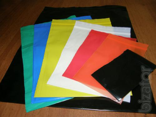 Shrink bags of different colors