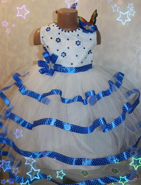 Новогодние платья для девочки сшить 156