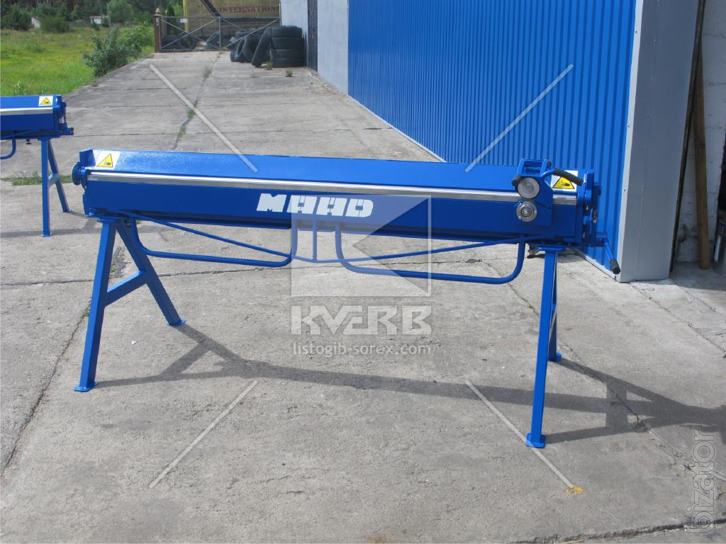 manual sheet bending machine price