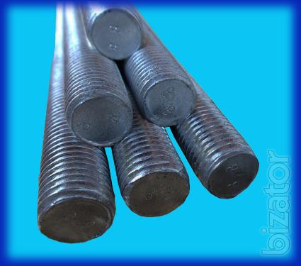 High strength threaded rod DIN 975