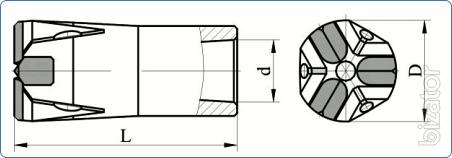 Trehletnyaya bits BKPM 40-25T
