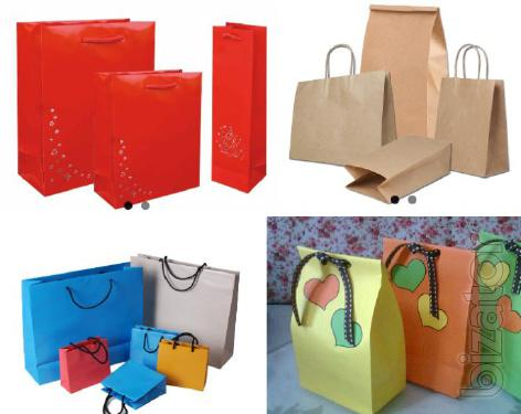 Paper packaging from the manufacturer