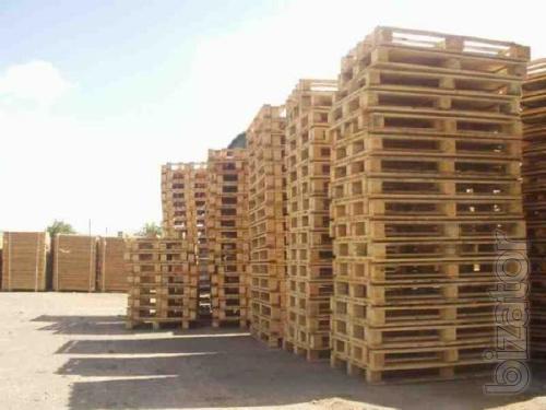 wooden pallets, Euro-pallet 1200 x 800