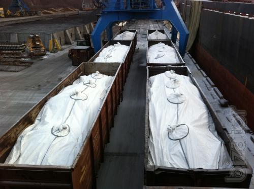 The liner in a gondola car – saving time and cost, shipping 10 PCs!