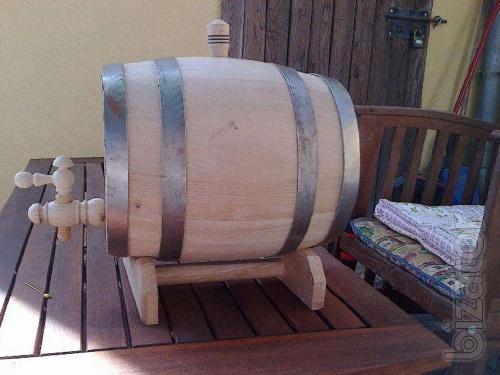 Oak barrels for pickling of vegetables, wines