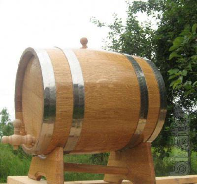 Oak tubs and barrels from 3 liters