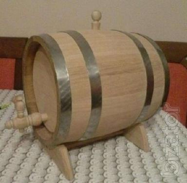 Tubs, barrels oak new at factory prices