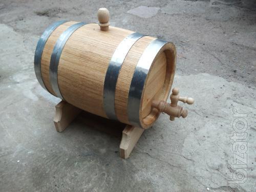 Oak barrel with stand (3l)