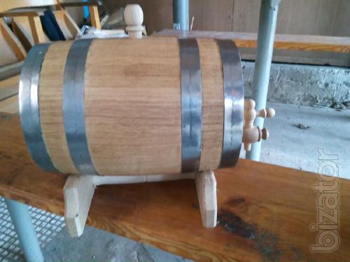 Barrel oak vats for wine, pickling