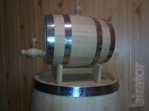Barrels, the oak jugs, tubs for pickles