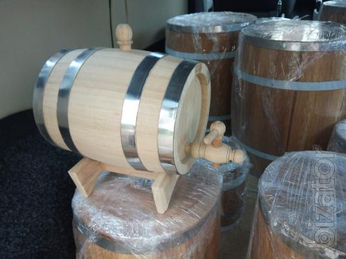 Oak barrels from 3 to 600 l