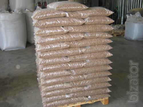 Plastic bags (bags) under the pellets!