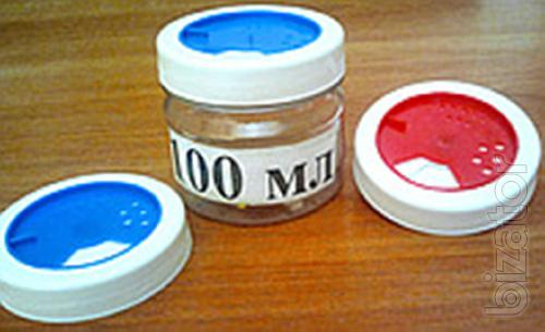 Bank plastic, blow molding, food with lid