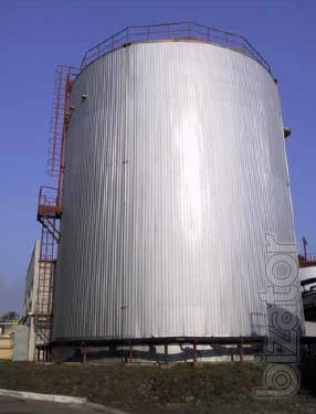 Vertical tanks for oil products
