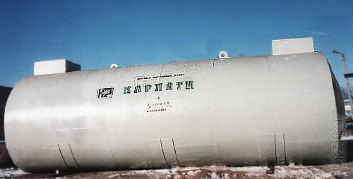 Tanks, storage tanks for the gas station double-hulled, underground, single and multi