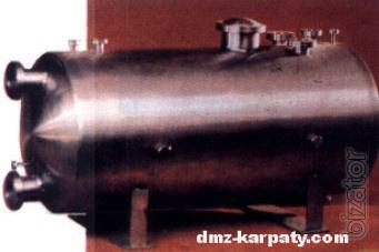 Vertical barrels, tanks without mixing device