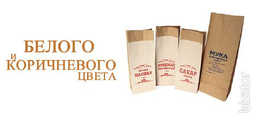 Paper bags for packing flour and other bulk products