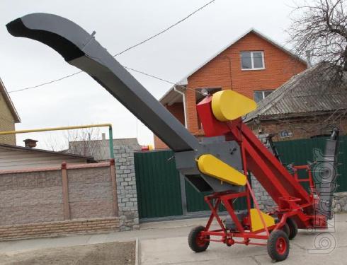 Зернометатель , зернопогрузчик ЗЗП-100, ЗЗП - 80