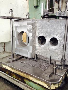 The body of the pellet mill ОГМ1.5 cast iron