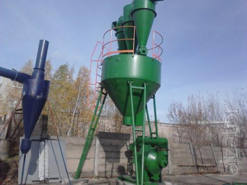 Service and installation of pelletizing plant pellets and feed ОГМ1.5