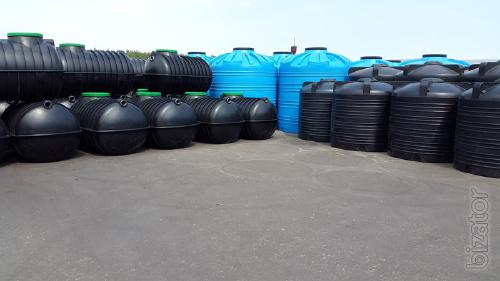 Plastic containers. Water tank. To buy a barrel. Best price shipping!