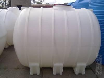 Tanks for the carriage - plastic Tanks for transportation of water.