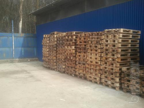 Sell used Euro pallets (pallets) at the best prices