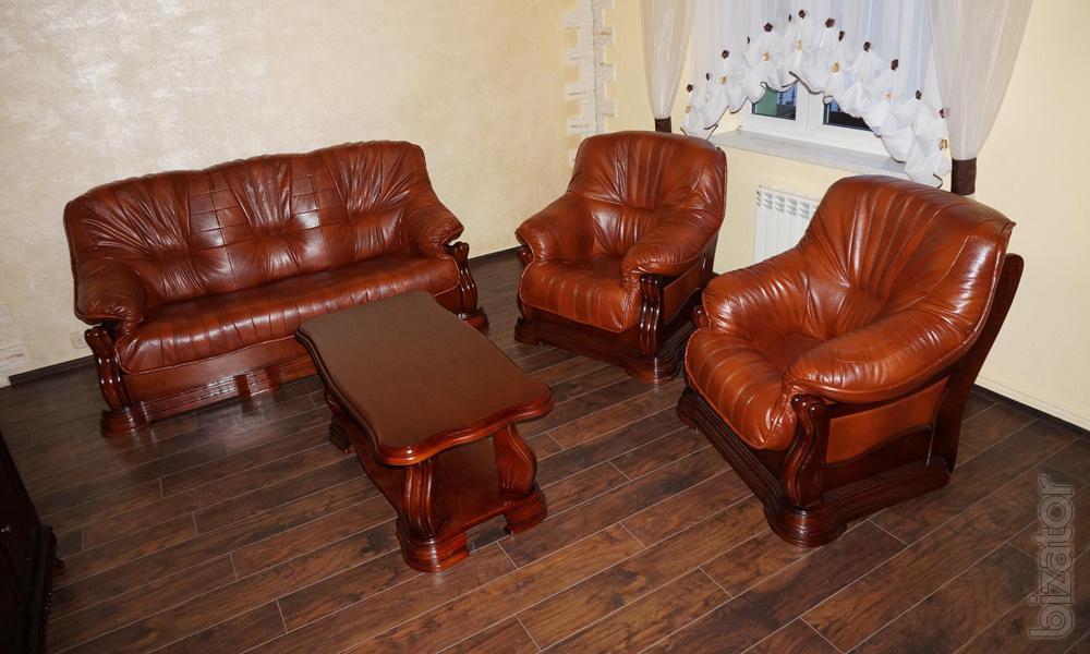 Мягкая мебель кожаная цена