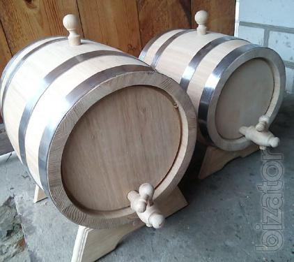 Produce and sell oak barrels, tubs