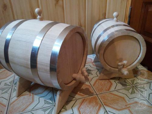 Produce oak barrels for drinks