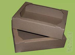 corrugated box, corrugated tray confectionary cushioning gofrolist,prokorovka and trays of complex cutting ,cardboard corners