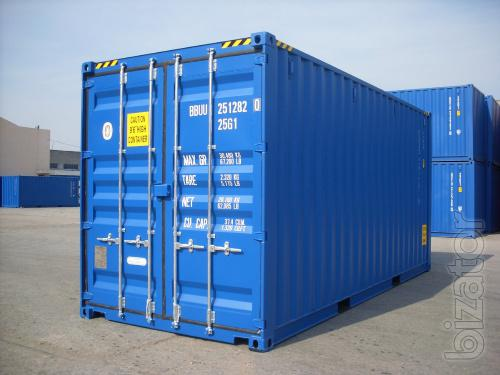 Sea container 20 feet b/y
