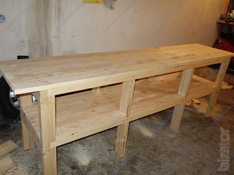 Will Sell Cheap Wooden Table Workbench Work Table For