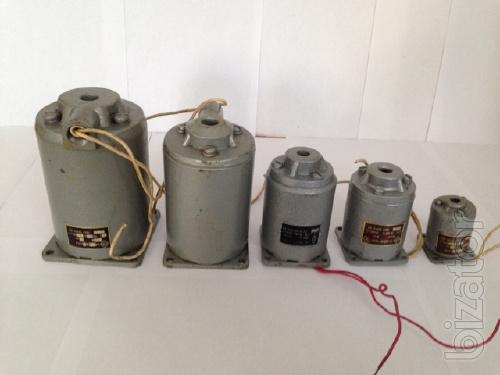 Electromagnets EU-2, EU-3, EU-4, EU-5, EU-6, EU-7, EU-8, EU-9