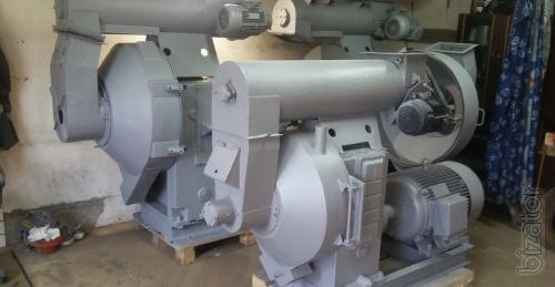 Press granulator OGM 1.5, capacity 800-1200 kg/h