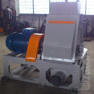 The wet chip shredder 55kW ( proizvoditelnosti up to 3T/h)