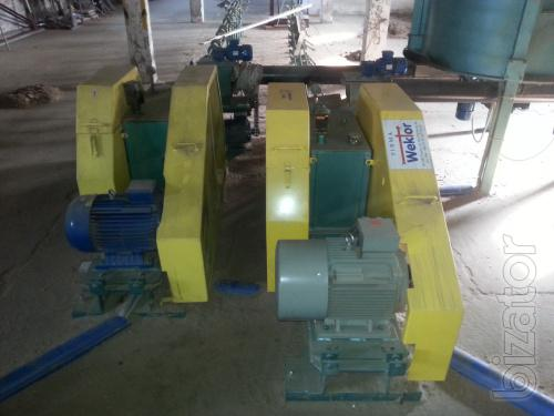 Press for producing fuel briquettes Wektor BT60 (500-700kg/h) B/Y