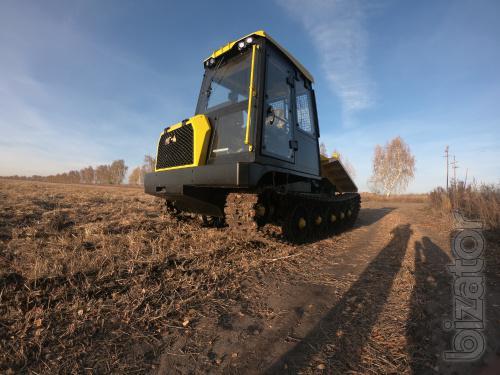 Трелевочный трактор МГ-4 (ТТ-4М) гусеничный Барнаул