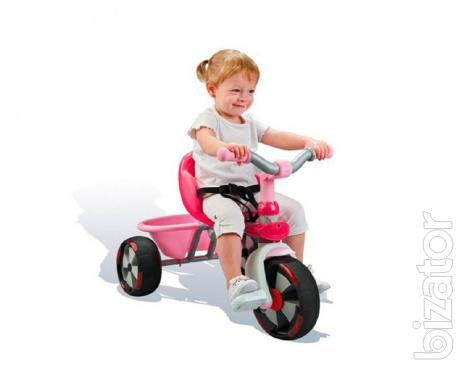 bike tricycle baby balade driver v smoby 434112 buy on. Black Bedroom Furniture Sets. Home Design Ideas