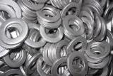 Bolts hex nuts washers Grover