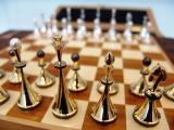 Elite chess gold silver diamonds