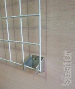 The mounting for the trading grid wall, retail equipment, showcase