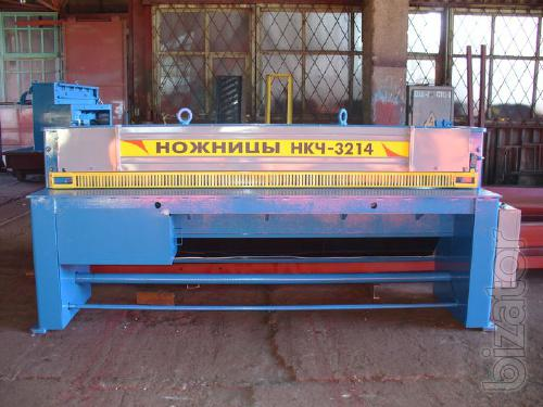 Electromechanical guillotine shears 2,5х2500 model NCC 3214 manufacture of Chernigov mechanical plant, Ukraine