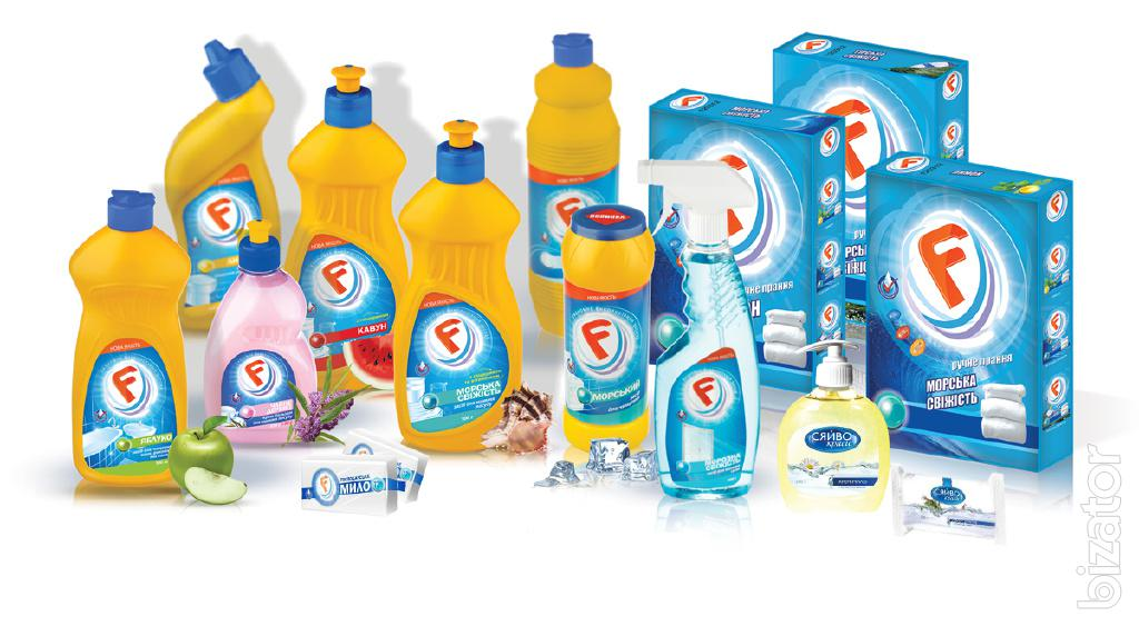 Household cleaning products brands