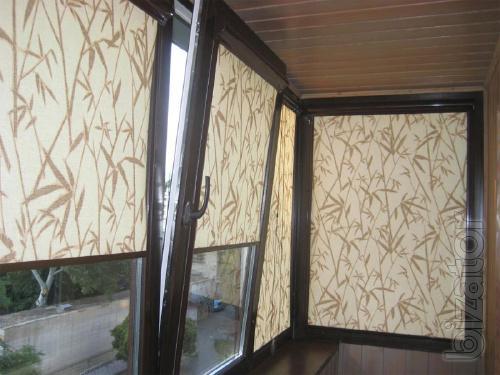 Рулонные шторы, тканевые ролеты